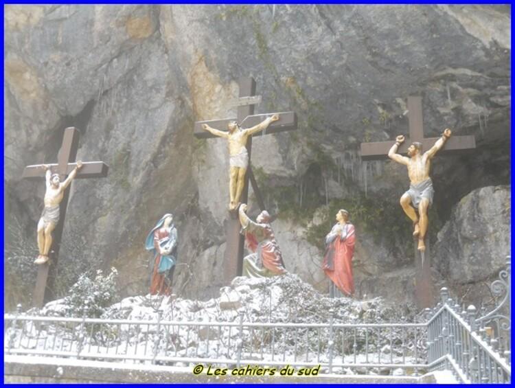 Balade à la Sainte Baume enneigée