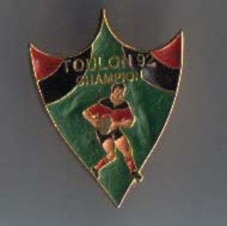 Pin's Toulon Champion 1992