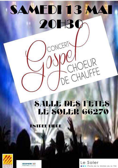 Concert Gospel Choeur de Chauffe