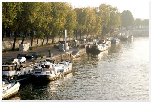 Matin d'octobre à Paris