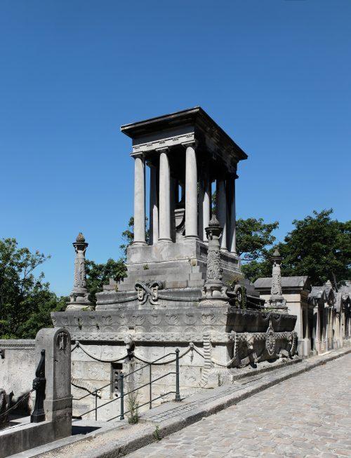 Monument funéraire de la famille Demidoff au Père-Lachaise
