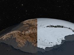 Un trou en Antarctique