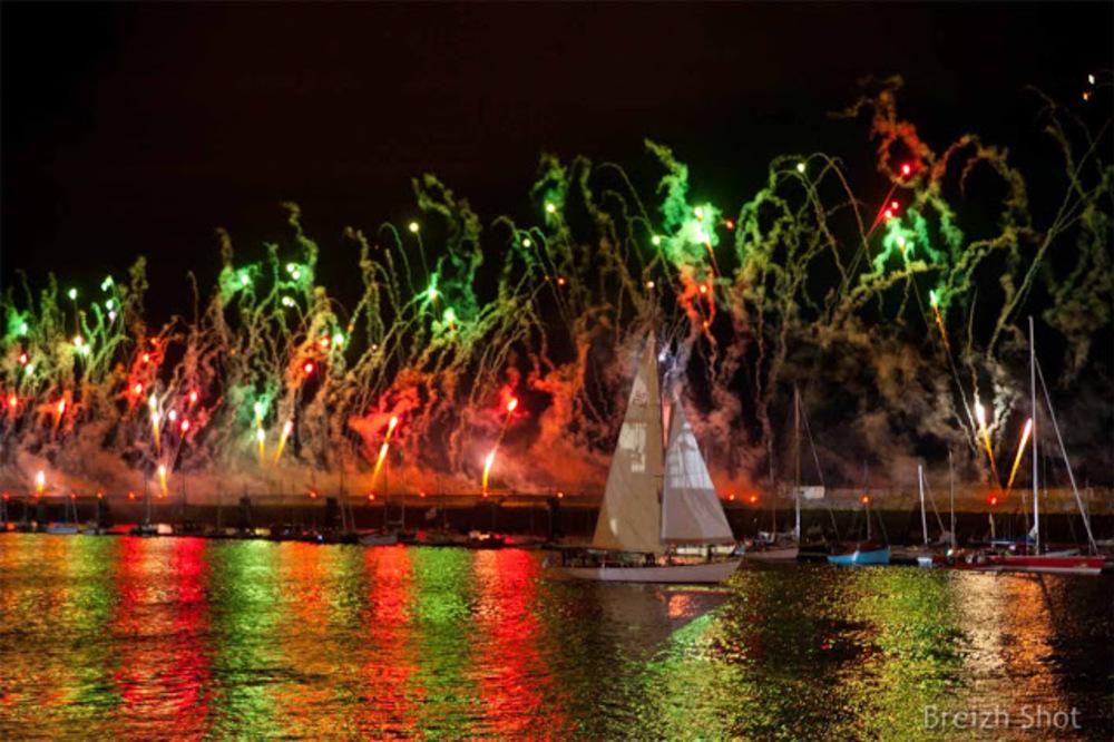 Tonnerres de Brest : Le spectacle pyrotechnique