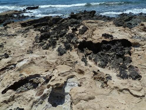 La roche de Chryssi (Crète) * Χρυσή