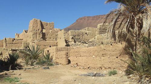 Casbah en ruine