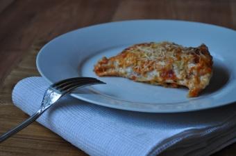 Lasagne au saumon