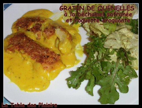 GRATIN DE QUENELLES