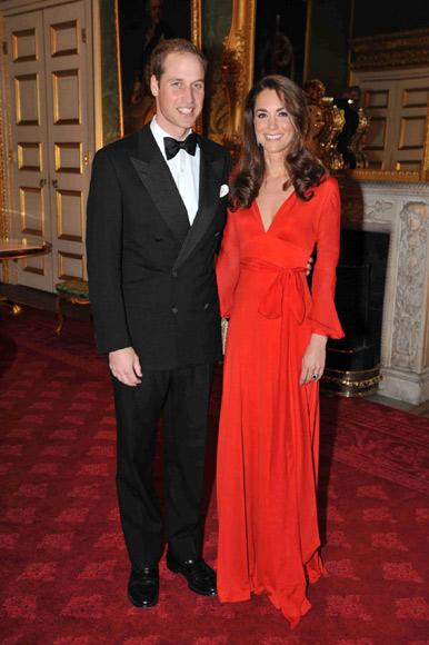 Kat et William à une soirée de charité