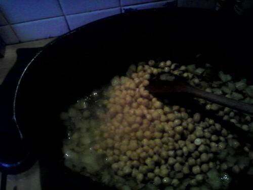 Cari/curry de lentilles et pois chiches aux légumes d'hiver {Vegan}