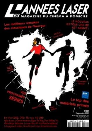 """Les Années Laser N° 287 Septembre 2021 Le Magazine DVD, Blu-Ray, Home Cinéma """"Magazine"""""""