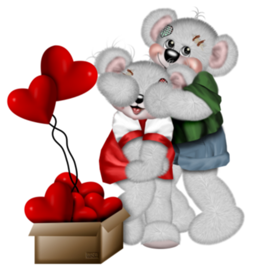 Saint Valentin Teddy etc