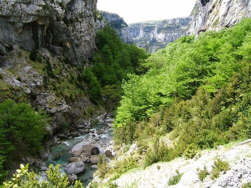 Le canyon d'Anizclo