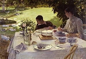 dejeuner au jardin 1883.1293702235