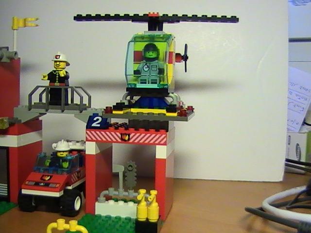 Légo city n° 6554 de 1996 - Blaze brigade!