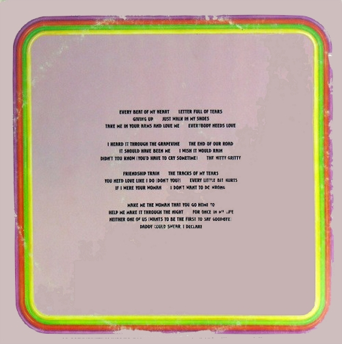 "Gladys Knight & The Pips : Album "" Anthology "" Motown Records M792S2 [ US ] en 1973"