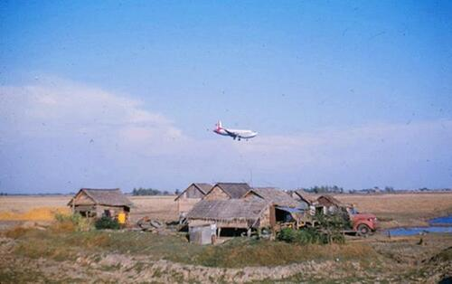Don Muang, Bangkok 1959 Image source Wally Higgins