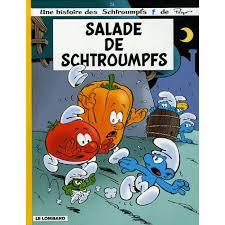 Chronique de la BD {Salade de Schtroumpfs}