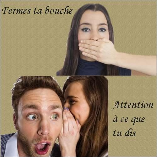 """La pensée du jour :  """" Surveillez votre langue """""""