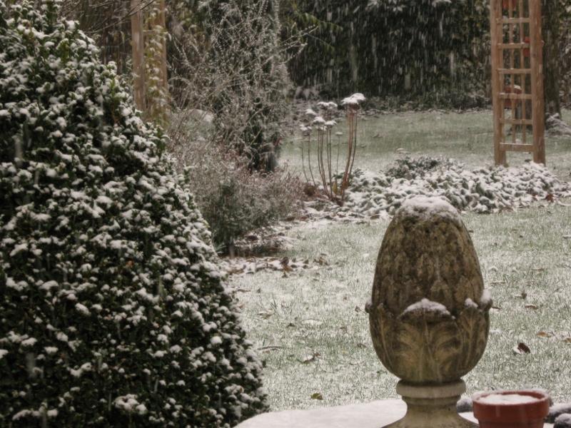 En décembre mieux valent gel et glace...