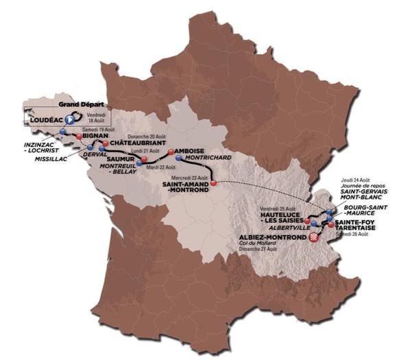 COURSE CYCLISTE : TOUR DE L'AVENIR