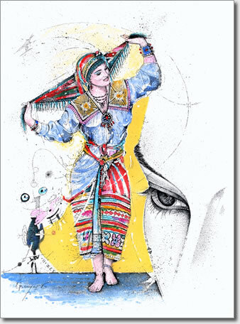 Femme kabyle - Azar
