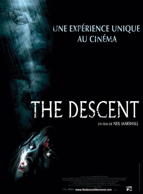 "Bonsoir a l'honneur : "" THE DESCENT """