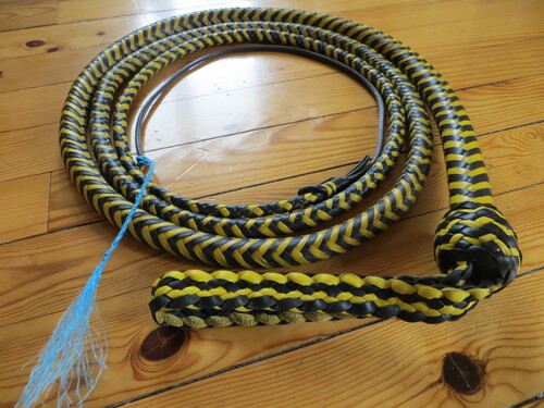 10ft BLACK AND YELLOW SNAKEWHIP