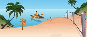 Jouer à Boy boat rescue