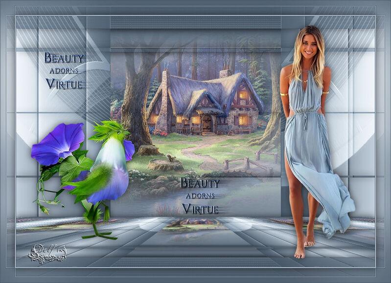 Beauty Adorns Virtue