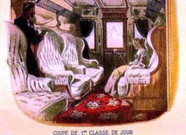 """* Suite : VISITE """"ORIENT EXPRESS """" - Intérieur des Wagons.*"""