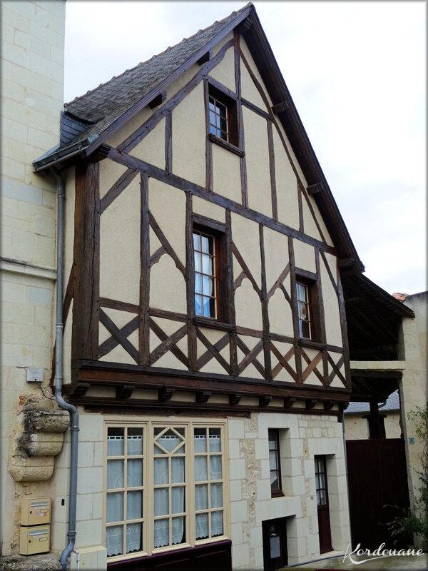 Photo Maison à pan de bois - Montreuil-Bellay