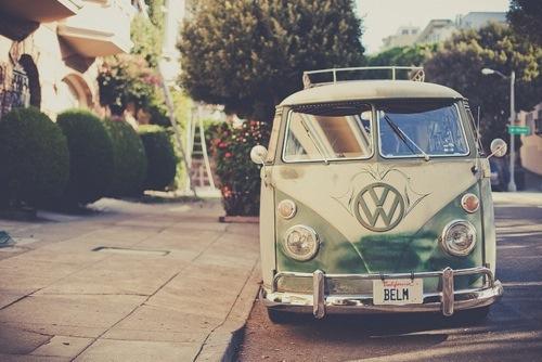 friends, holliday, vintage, volkswagen, germany, car, van, love, good memories, green, white, usa