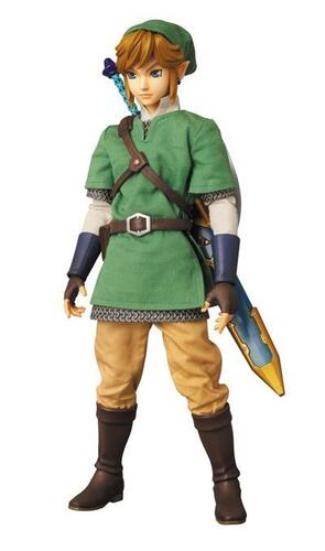 """Un cosplay de Link du jeu vidéo """"Zelda"""""""
