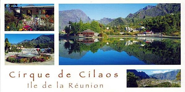 Carte Cilaos-Erato