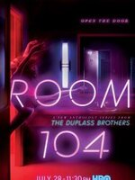 Room 104 : Différents personnages passent dans la chambre 104 d'un hôtel américain. ... ----- ...  la serie : Américaine Saison : 1 saison Episodes : 12 épisodes Statut : En cours Réalisateur(s) : Mark Duplass, Jay Duplass Acteur(s) : DavieBlue, Spencer Garrett, Will Tranfo Genre : Comedie Critiques Spectateurs : 3,0