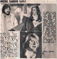 25 juin 1977 / NUMERO UN MICHEL SARDOU