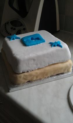 le gâteau de profil