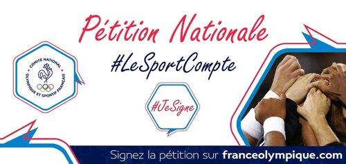 #LeSportCompte : Signez la pétition !