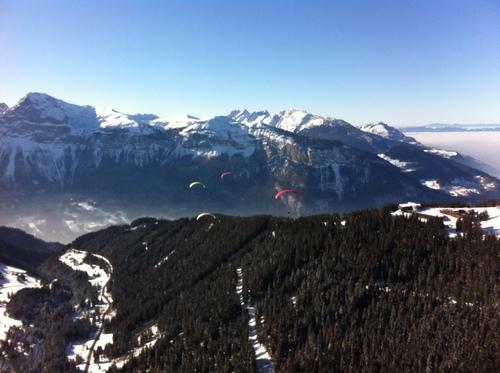 Vols et ski ... excellent !