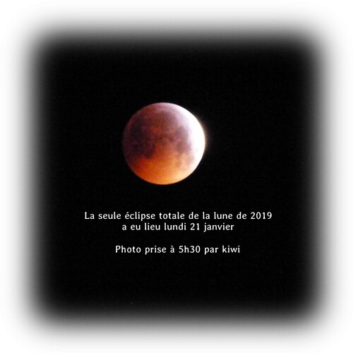 Eclipse totale du 21 janvier