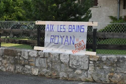 -  Diagonale d' AIX  à   ROYAN - étapes 1 à 3