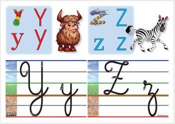 Alphabet référent d'écriture