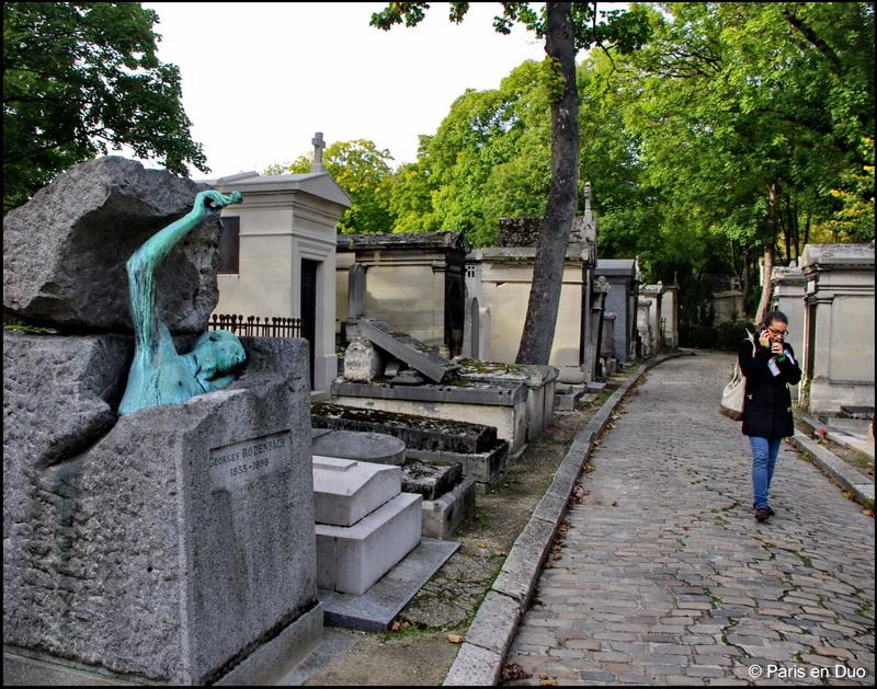 La vie des cimetières