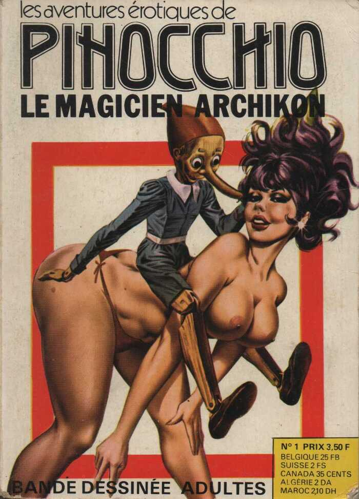 Les Aventures Erotiques de Pinocchio