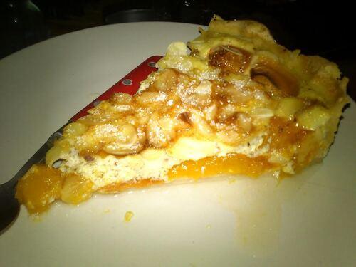 une tarte abricot amande pour un peu de fraicheur