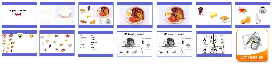 English breakfast - supports et activités CM