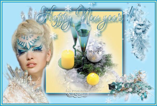 Mes voeux pour la Nouvelle Année