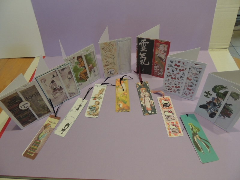 Cartes marques pages