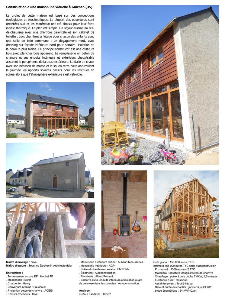 Séverine Duchemin-architecte-Construction d'une maison individuelle