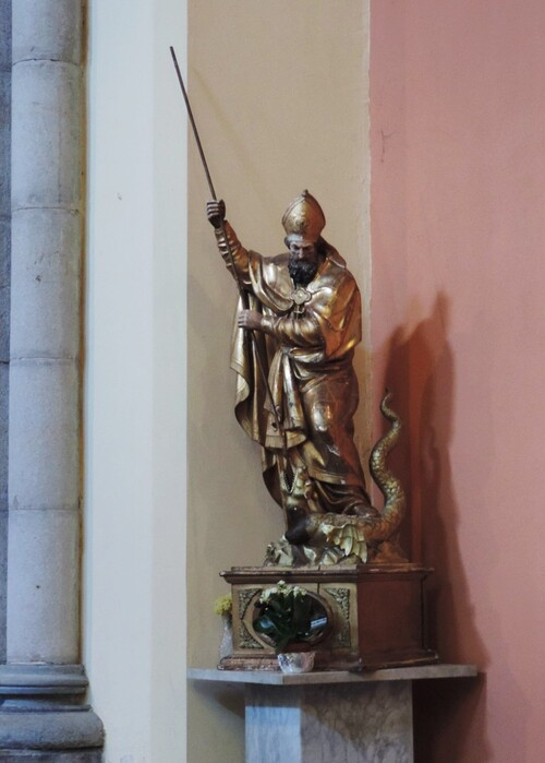 St Hermentaire et le dragon